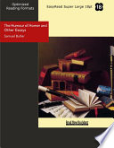 illustration The Humour of Homer and Other Essays, Easyread Super Large 18pt Edition