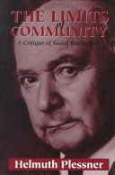 The Limits Of Community : the dangers of rejecting modern society...