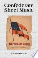Confederate Sheet Music