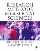 Research Methods in the Social Sciences