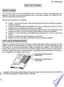General support maintenance manual (card test and repair)