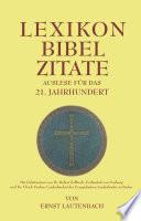 Lexikon Bibel-Zitate