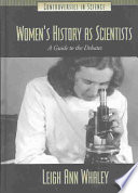 Women s History as Scientists
