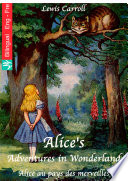 Alice s Adventures in Wonderland  English French edition illustrated