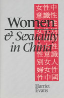 Women and Sexuality in China