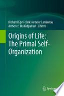 Origins of Life  The Primal Self Organization