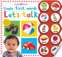 Simple First Words Let s Talk Book PDF