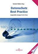 Datenschutz - best practice