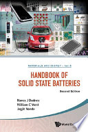 Handbook Of Solid State Batteries  Second Edition