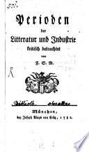 Perioden der Litteratur und Industrie