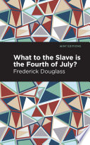 Book What to the Slave is the Fourth of July