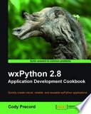 Wxpython 2 8 Application Development Cookbook