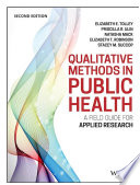 Qualitative Methods in Public Health
