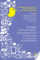 Strategic Communication  Social Media and Democracy