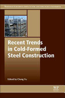 Recent Trends In Cold Formed Steel Construction