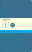 Moleskine Classic Colored Notebook  Large  Dotted  Underwater Blue