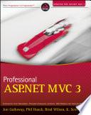 Professional ASP NET MVC 3