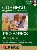 CURRENT Diagnosis and Treatment Pediatrics  Twentieth Edition