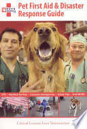 Pet First Aid   Disaster Response Guide