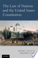 The Law of Nations and the United States Constitution