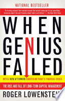 When Genius Failed Free download PDF and Read online