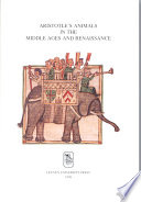 Aristotle s Animals in the Middle Ages and Renaissance
