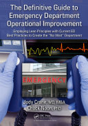 The Definitive Guide to Emergency Department Operational Improvement