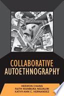 Collaborative Autoethnography