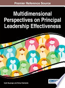 Multidimensional Perspectives on Principal Leadership Effectiveness