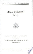 House Document  No  121