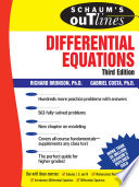 Schaum s Outline of Differential Equations  3rd edition