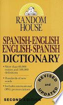 Diccionario Espanol ingles Ingles espanol