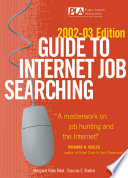 Guide to Internet Job Searching  2002 2003