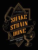 Book Shake Strain Done