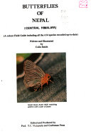 . Butterflies of Nepal (Central Himalaya) .