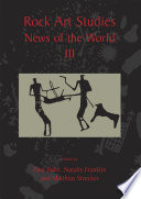 Rock Art Studies - News of the World Volume 3