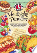 Weeknight Dinners Cookbook with Recipe Videos