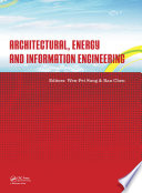 Architectural  Energy and Information Engineering