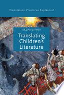 Translating Children S Literature