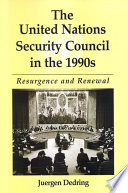 United Nations Security Council in the 1990s  The