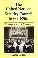 download ebook united nations security council in the 1990s, the pdf epub