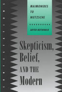 Skepticism  Belief  and the Modern