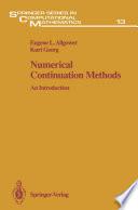 Numerical Continuation Methods