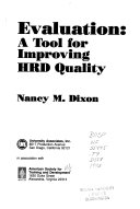 Evaluation: A Tool for Improving HRD Quality