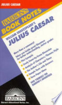 William Shakespeare s Julius Caesar