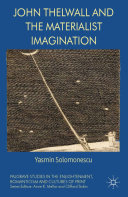 download ebook john thelwall and the materialist imagination pdf epub