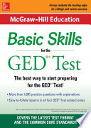 McGraw Hill Education Basic Skills for the GED Test