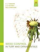 Weed Control in Turf and Ornamentals