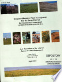 Integrated Invasive Plant Management For The Burns District