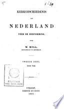 Kerkgeschiedenis van Nederland vóór de Hervorming
